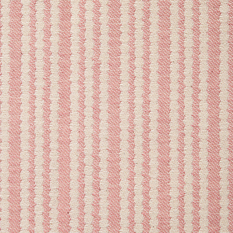 Scallop Stripe Rose Cotton