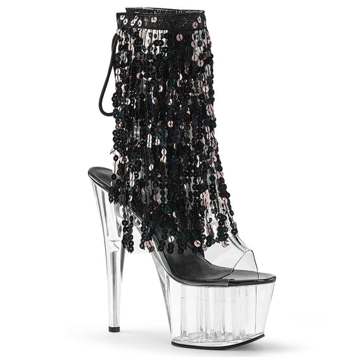 Pleaser ADO1017SQF/C-B/C Drag Platform Shoes by Pleaser, available at The Drag Room
