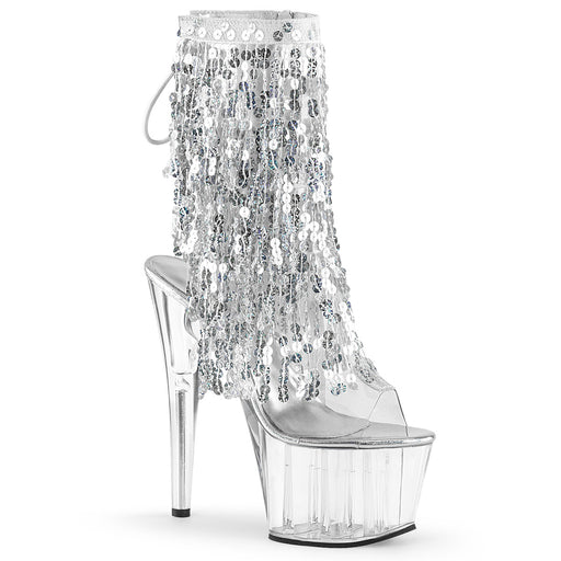 Pleaser ADO1017SQF/C-S/C Drag Platform Shoes by Pleaser, available at The Drag Room