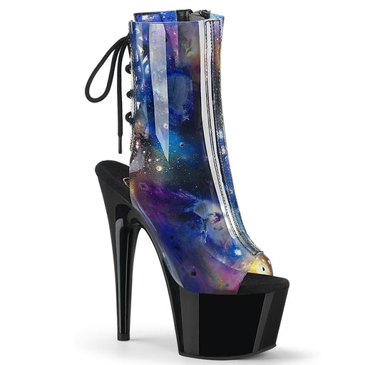 Pleaser ADO1018C-COSMOS/PP/B Drag Platform Shoes by Pleaser, available at The Drag Room