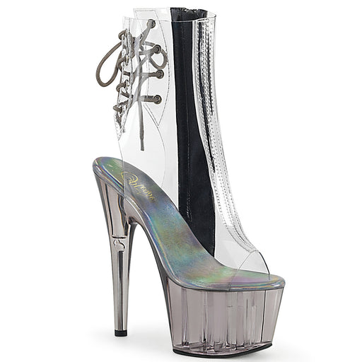 Pleaser ADO1018CT/C/SMK Drag Platform Shoes by Pleaser, available at The Drag Room