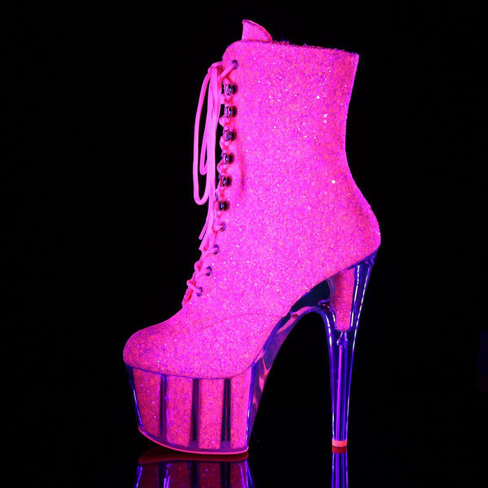 Pleaser ADO1020G/NPNK/M Drag Platform Shoes by Pleaser, available to buy at The Drag Room