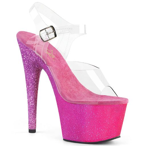 Pleaser ADO708OMBRE/C/PN-LV Drag Platform Shoes by Pleaser, available to buy at The Drag Room
