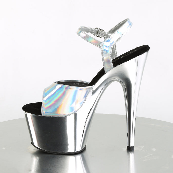 Pleaser ADO709HGCH/SHG/SCH Drag Platform Shoes by Pleaser, available to buy at The Drag Room