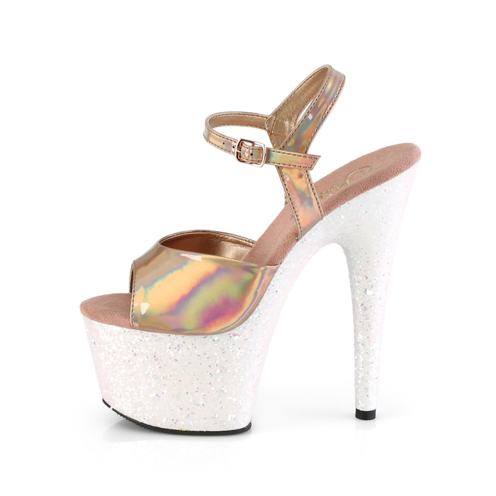 Pleaser ADO709HGG/ROHG/OPG Drag Platform Shoes by Pleaser, available to buy at The Drag Room