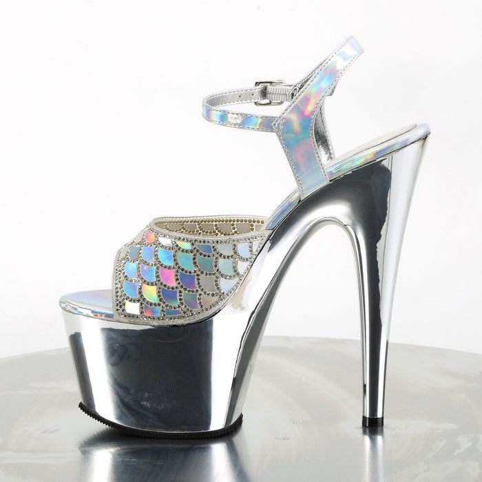 Pleaser ADO709MMRS/SHG/SCH Drag Platform Shoes by Pleaser, available to buy at The Drag Room