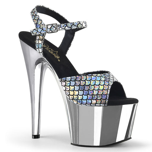 Pleaser ADO709MSC/SHG/SCH Drag Platform Shoes by Pleaser, available to buy at The Drag Room