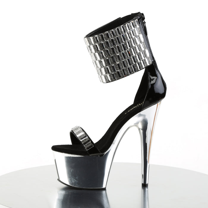 Pleaser ADO789RS/B/SCH Drag Platform Shoes by Pleaser, available to buy at The Drag Room