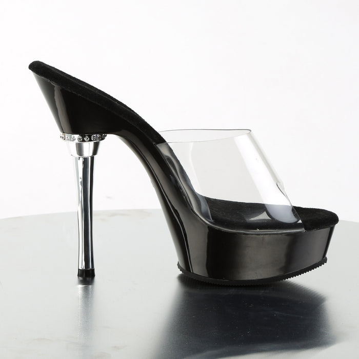 Pleaser ALL601/C/B Drag Platform Shoes by Pleaser, available to buy at The Drag Room