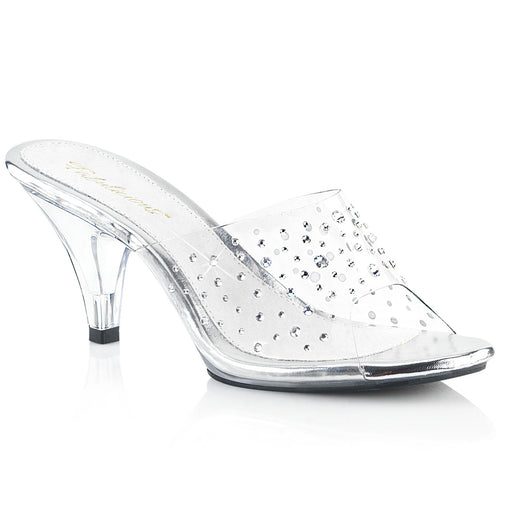 Fabulicious BEL301RS/C/M Drag Shoes by Pleaser, available to buy at The Drag Room