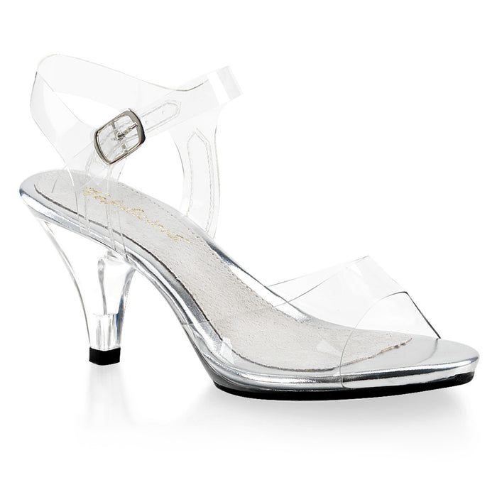 Fabulicious BEL308/C/M Drag Shoes by Pleaser, available to buy at The Drag Room