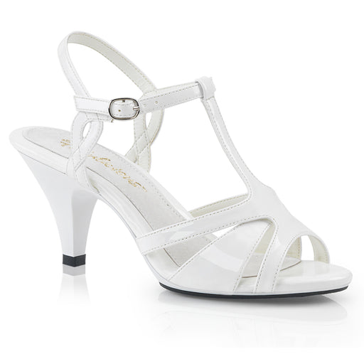 Fabulicious BEL322/W/M Drag Shoes by Pleaser, available to buy at The Drag Room