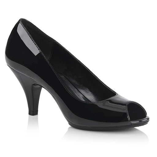 Fabulicious BEL362/B/M Drag Shoes by Pleaser, available to buy at The Drag Room