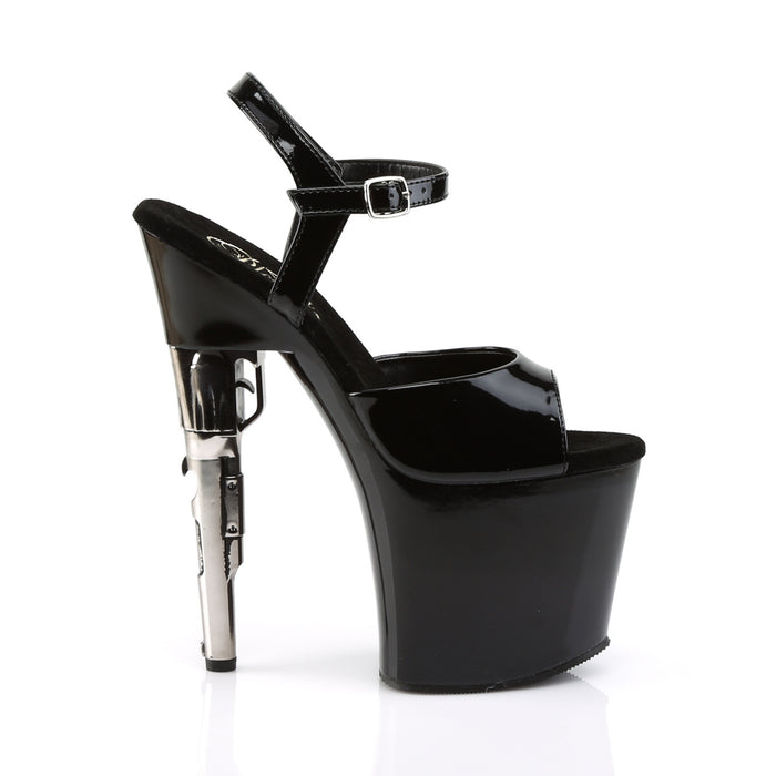Pleaser BOND709/B/M Drag Platform Shoes by Pleaser, available to buy at The Drag Room