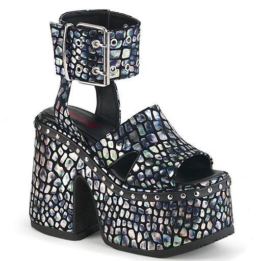 Demonia CAM102/BNB-SHG Drag Footwear by Pleaser, available to buy at The Drag Room