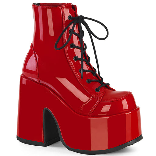 Demonia CAM203/R Drag Boots by Pleaser, available to buy at The Drag Room