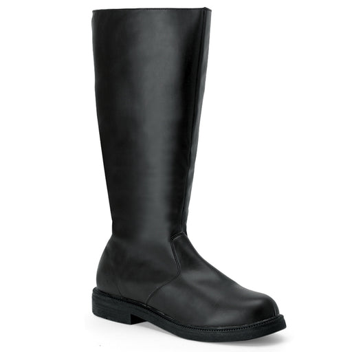 Funtasma CAP100/B/PU Drag Boots by Pleaser, available at The Drag Room