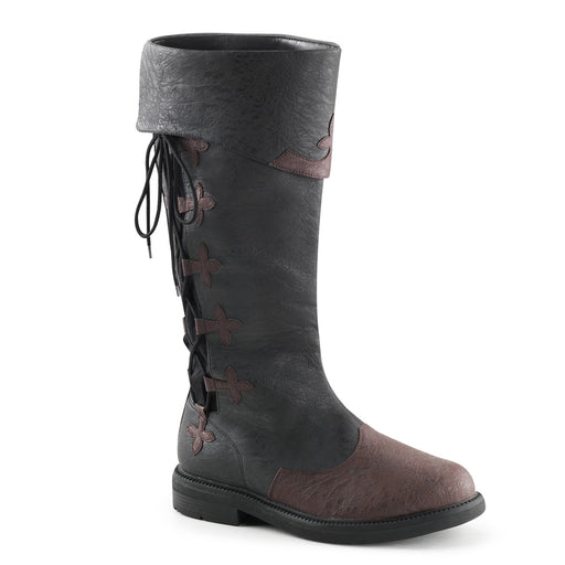 Funtasma CAP110/B-BNPU Drag Boots by Pleaser, available at The Drag Room