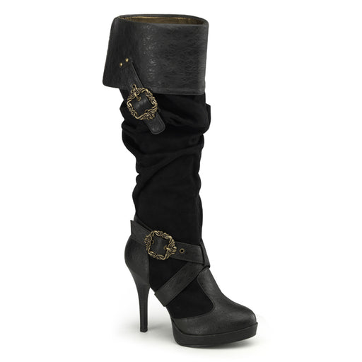 Funtasma CARR216/BPUMF Drag Boots by Pleaser, available to buy at The Drag Room