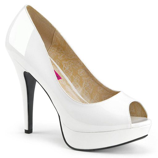Pleaser Pink Label CHLOE01/W Drag Platform Shoes by Pleaser, available to buy at The Drag Room