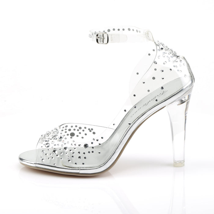 Fabulicious CLE430RS/C Drag Shoes by Pleaser, available to buy at The Drag Room