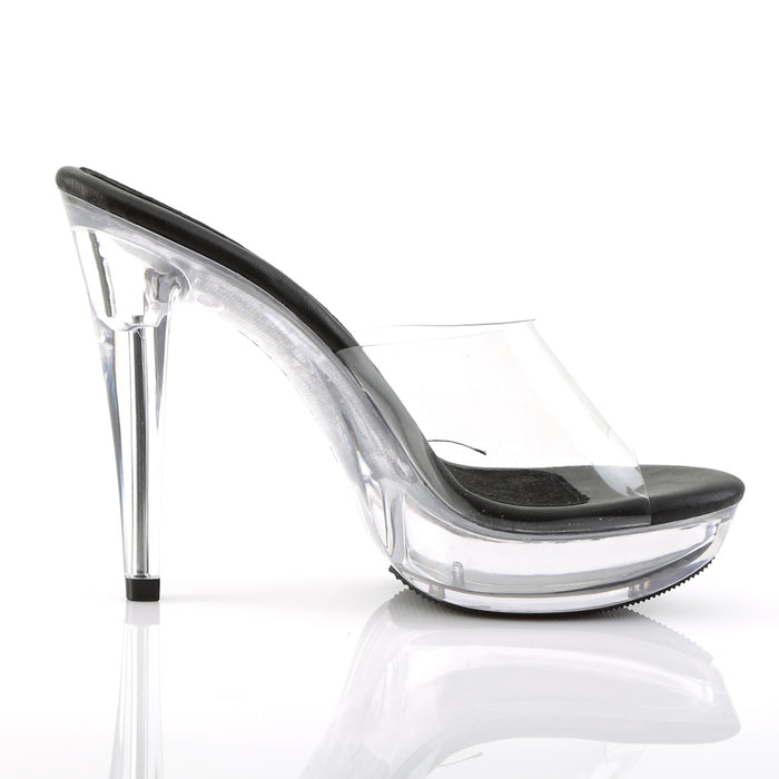 Fabulicious CTAIL501/CB/C Drag Shoes by Pleaser, available to buy at The Drag Room