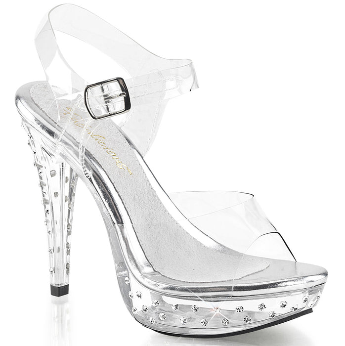 Fabulicious CTAIL508SDT/C/M Drag Shoes by Pleaser, available to buy at The Drag Room