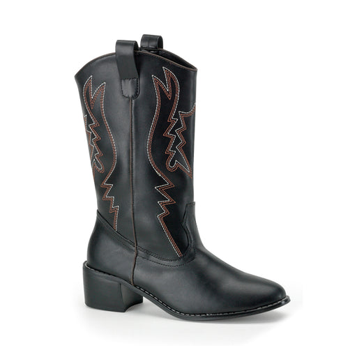 Funtasma COW100/B/PU Drag Boots by Pleaser, available at The Drag Room