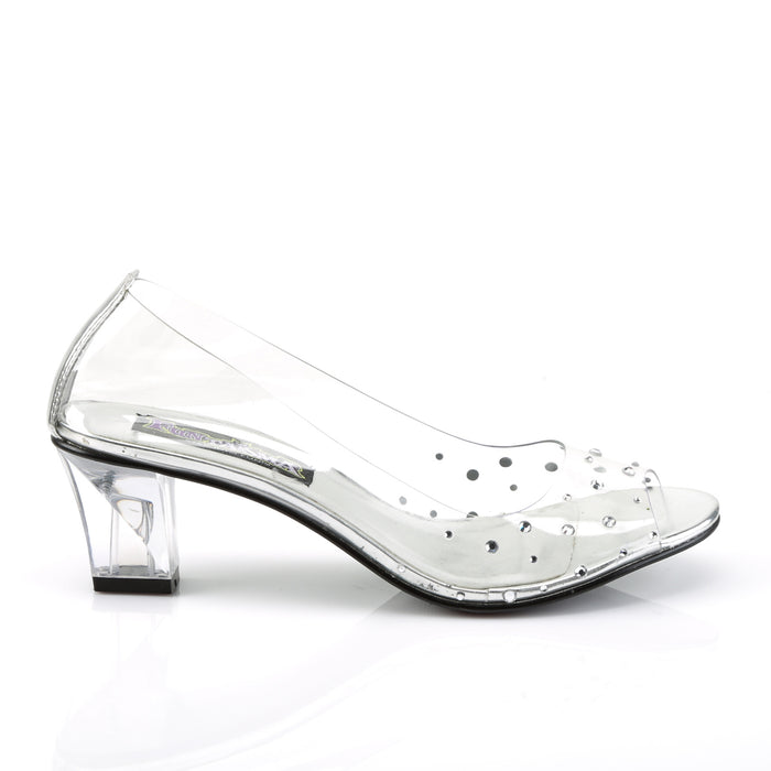 Funtasma CRY100/C Drag Shoes by Pleaser, available to buy at The Drag Room