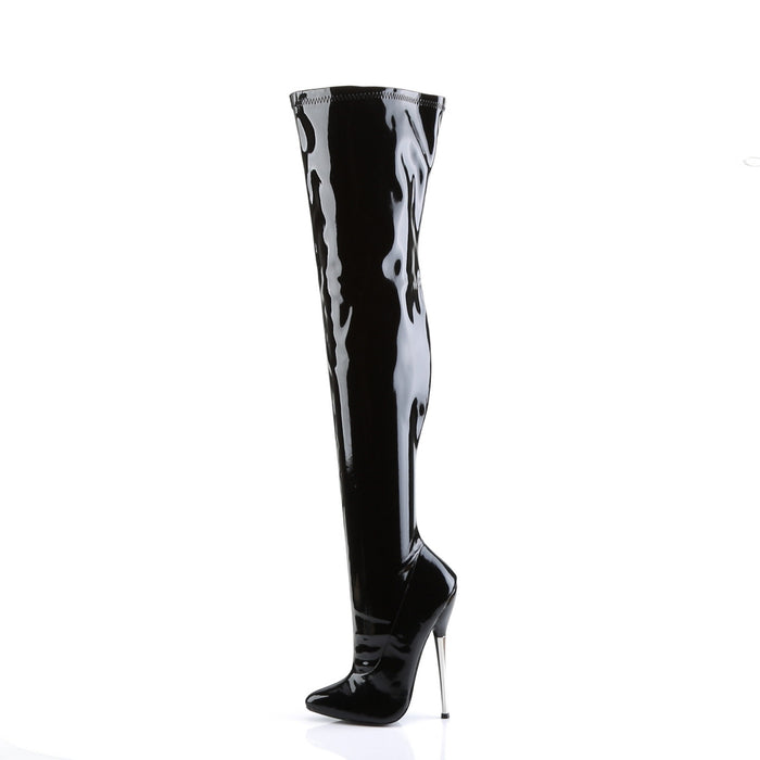 Devious DAG3000/B Drag Footwear by Pleaser, available to buy at The Drag Room