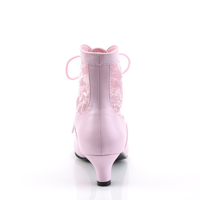 Funtasma DAME05/BP/PU Drag Boots by Pleaser, available to buy at The Drag Room