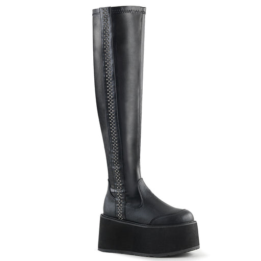 Demonia DAM302/BVL Drag Boots by Pleaser, available to buy at The Drag Room