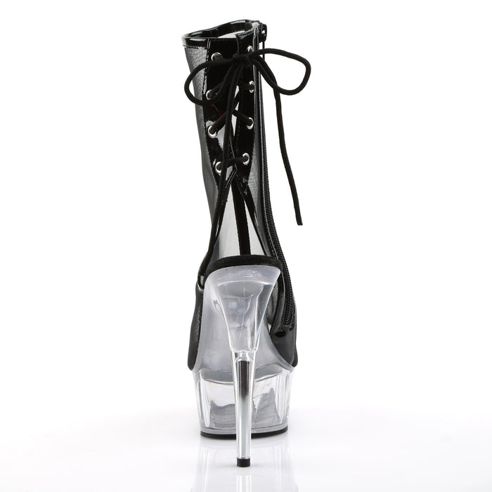 Pleaser DEL1018MSH/B-MS/C Drag Platform Shoes by Pleaser, available to buy at The Drag Room
