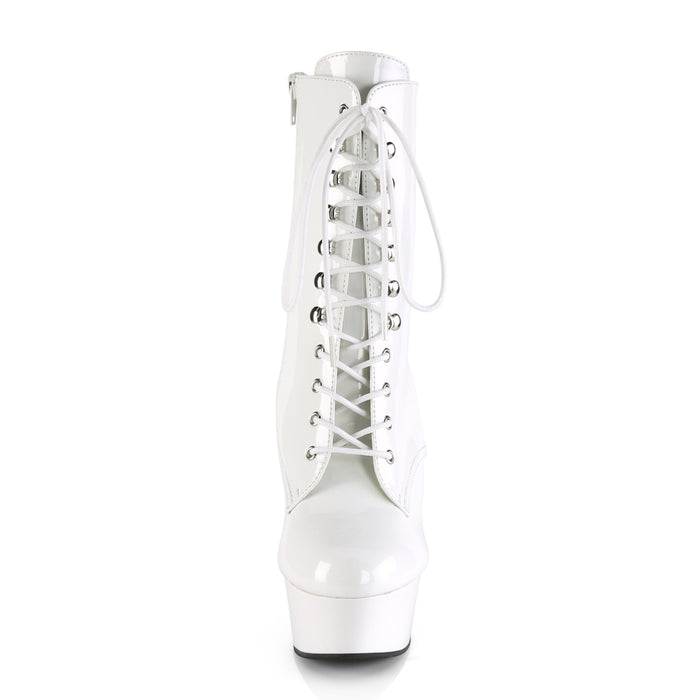 Pleaser DEL1020/W/M Drag Platform Shoes by Pleaser, available to buy at The Drag Room