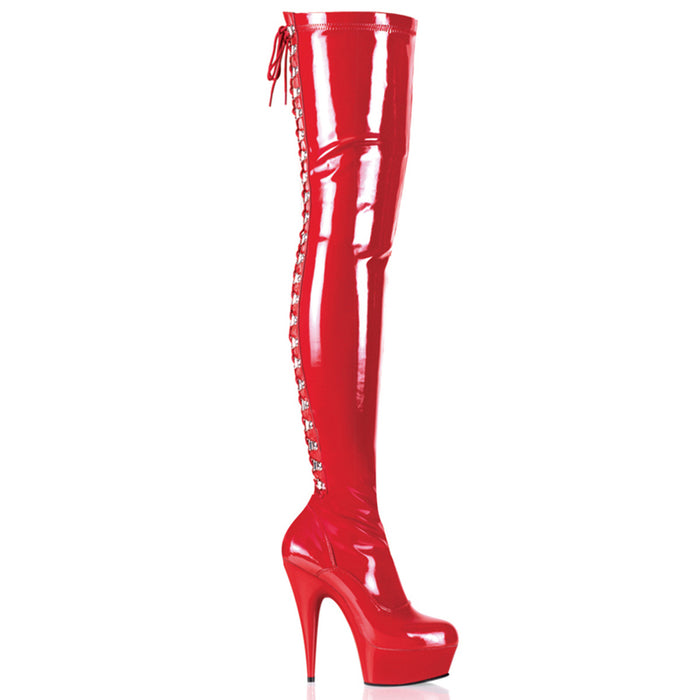 Pleaser DEL3063/R/M Drag Platform Shoes by Pleaser, available to buy at The Drag Room