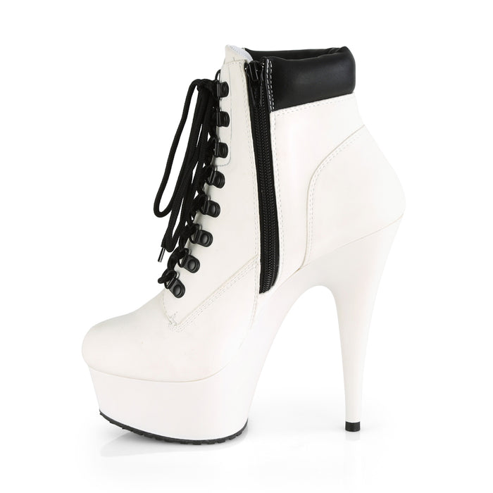 Pleaser DEL600TL-02/WNB/M Drag Platform Shoes by Pleaser, available to buy at The Drag Room