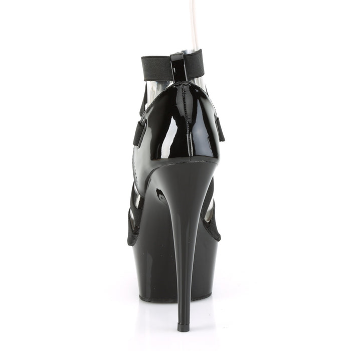 Pleaser DEL657/BELS-PT/M Drag Platform Shoes by Pleaser, available to buy at The Drag Room