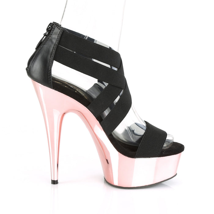 Pleaser DEL669/BELS-PU/ROGCH Drag Platform Shoes by Pleaser, available to buy at The Drag Room