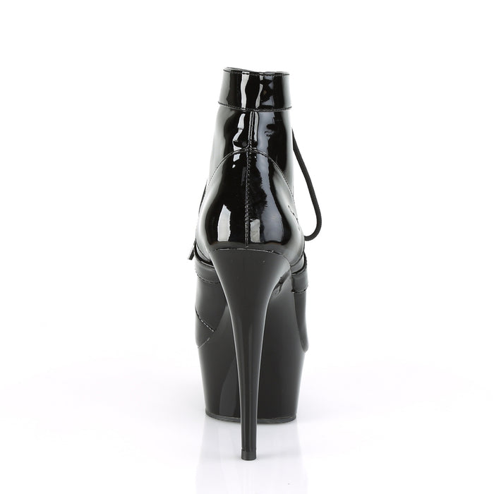 Pleaser DEL688/B/M Drag Platform Shoes by Pleaser, available to buy at The Drag Room
