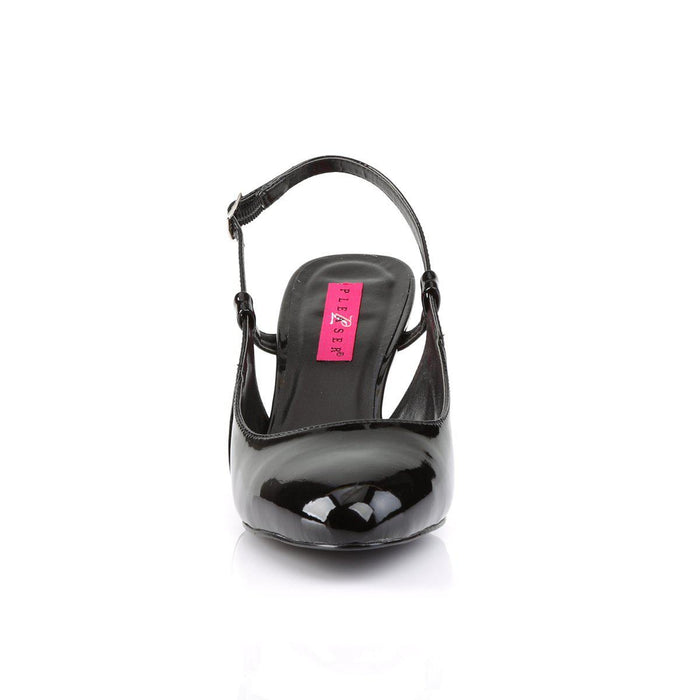 Pleaser Pink Label DIV418/B Drag Footwear by Pleaser, available to buy at The Drag Room
