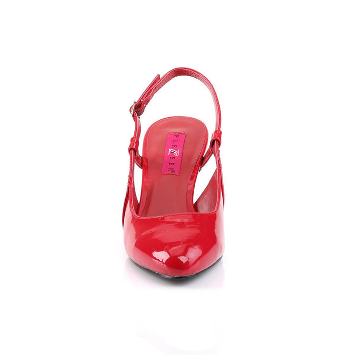 Pleaser Pink Label DIV418/R Drag Footwear by Pleaser, available to buy at The Drag Room