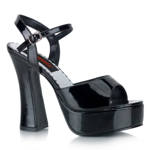 Demonia DOL09/B Drag Footwear by Pleaser, available to buy at The Drag Room