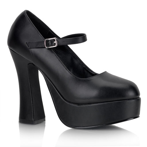 Demonia DOL50/B/PU Drag Shoes by Pleaser, available to buy at The Drag Room