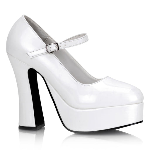 Demonia DOL50/W Drag Shoes by Pleaser, available to buy at The Drag Room