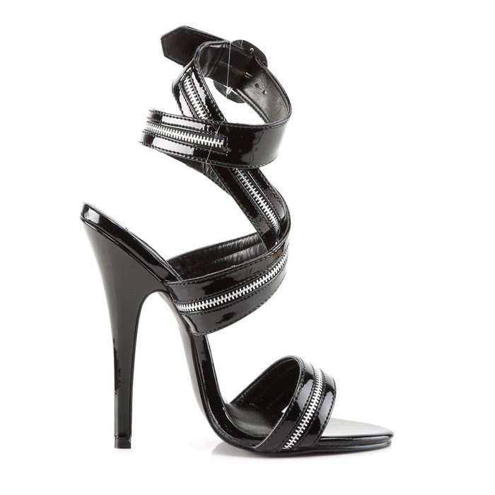 Devious DOM119/B Drag Footwear by Pleaser, available to buy at The Drag Room
