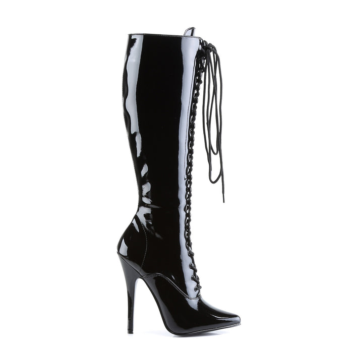 Devious DOM2020/B Drag Footwear by Pleaser, available to buy at The Drag Room