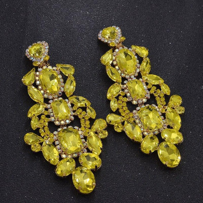 Drag-Clip-on Earrings - Sofia-