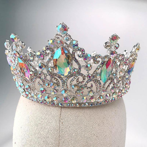 Drag-Crystal Crown - Raja-AB Crystal-