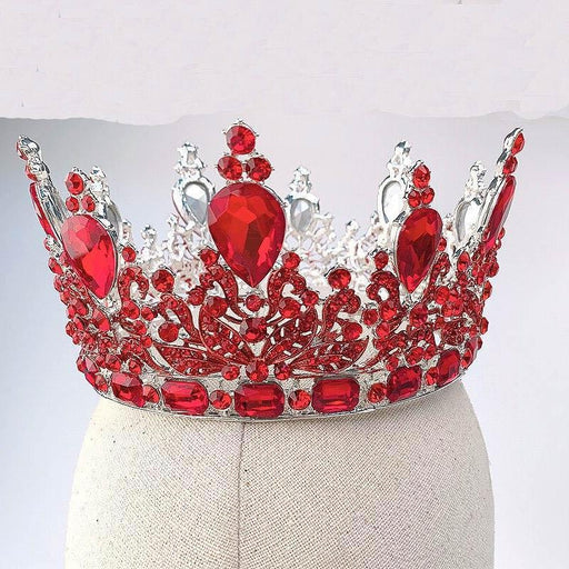 Drag-Crystal Crown - Tyra-Red-