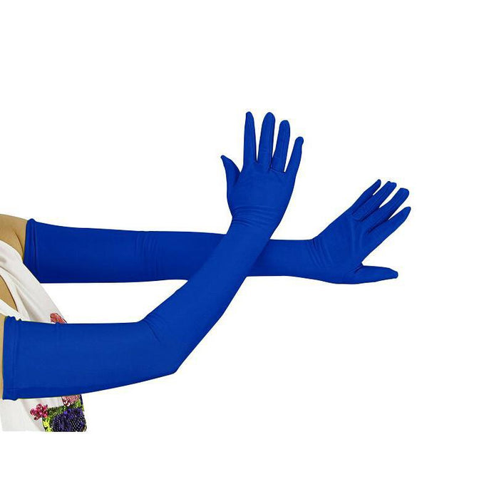 Drag-Drag Gloves - Opera (Small Size)-Royal Blue-
